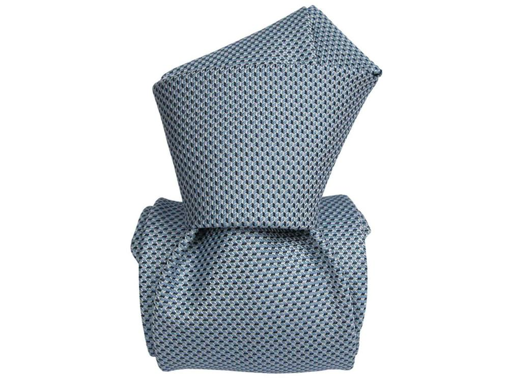 Infinite - Italian three-fold silk tie