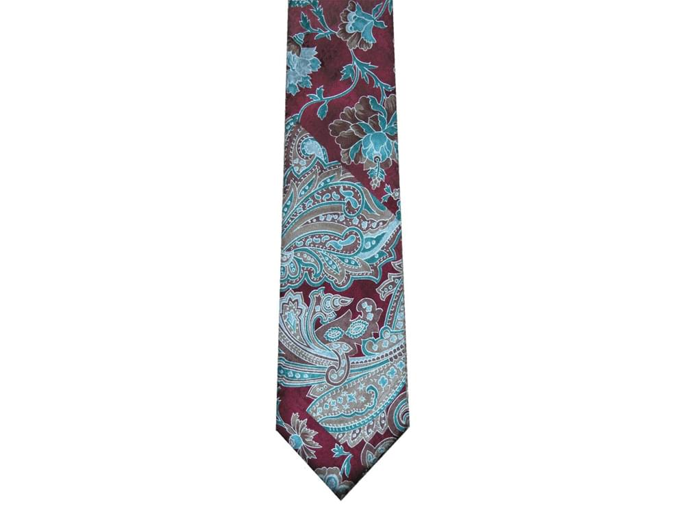 Mettle - Italian three-fold silk tie