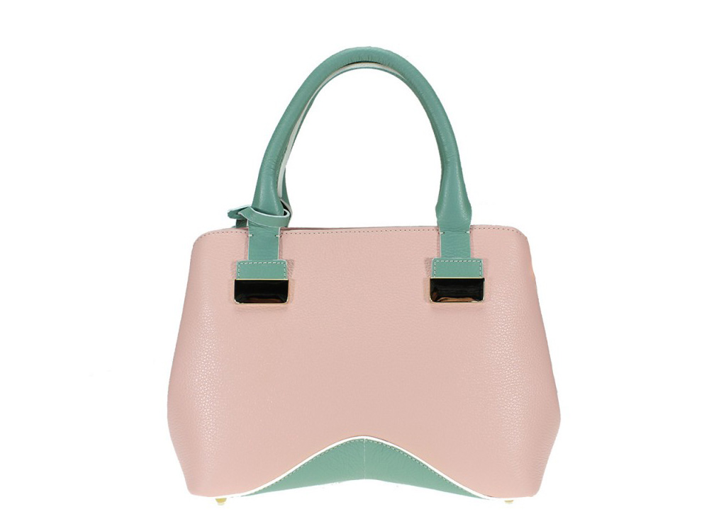 Maissana - high quality Italian leather bag - front view